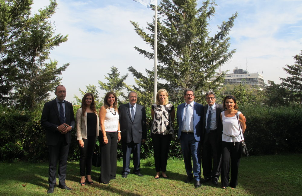 SCL Sigrid Kaag meets delegation from Humanist Lebanon (12 10 16)