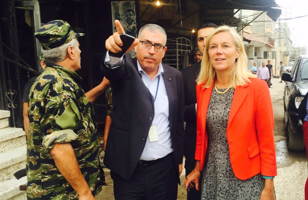 SCL Kaag tours Ein El-Hilweh camp