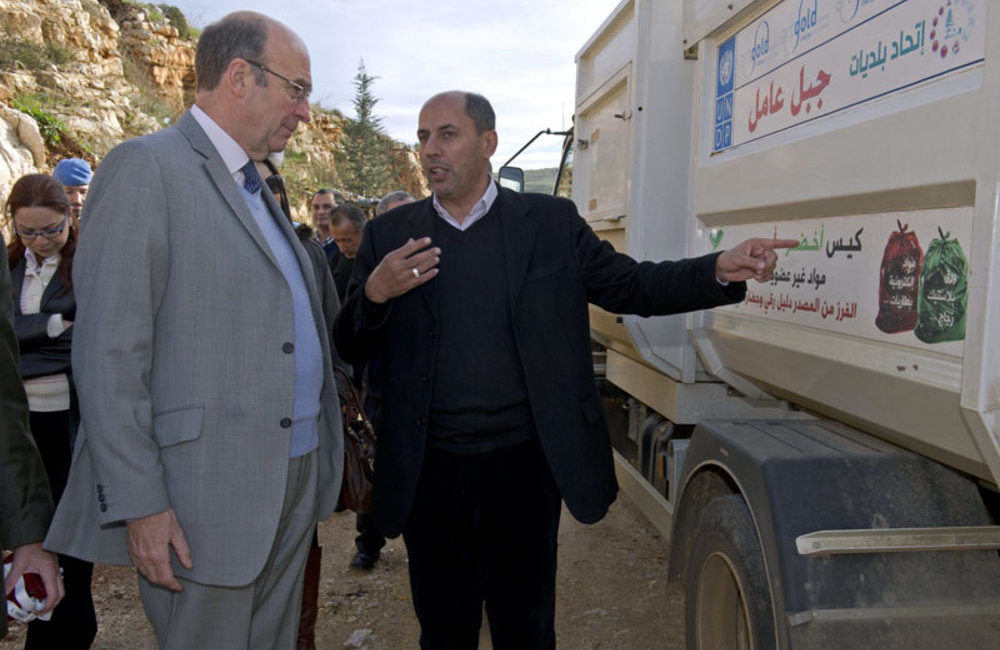 SCL Plumbly examines UNDP-managed development projects in south Lebanon (18 12 12)