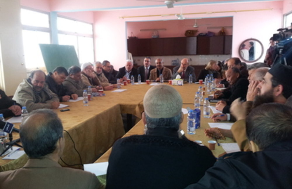 Former SCL Plumbly meets Security and Popular Committes in Ain EL-Hilweh(31-01-2013)