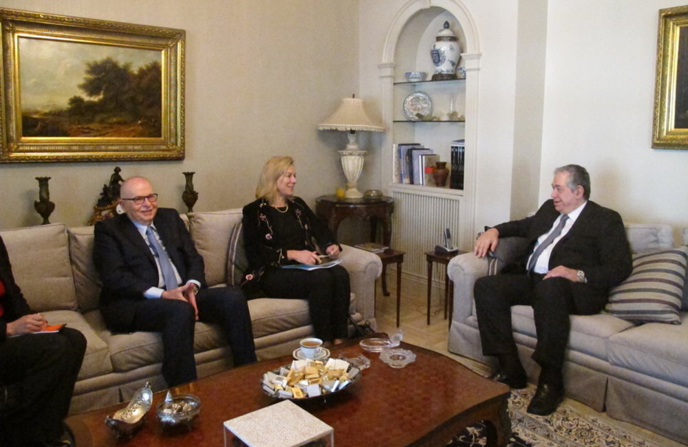 SCL Sigrid Kaag meeting with Tripoli Parliamentarians (03-02-2015)