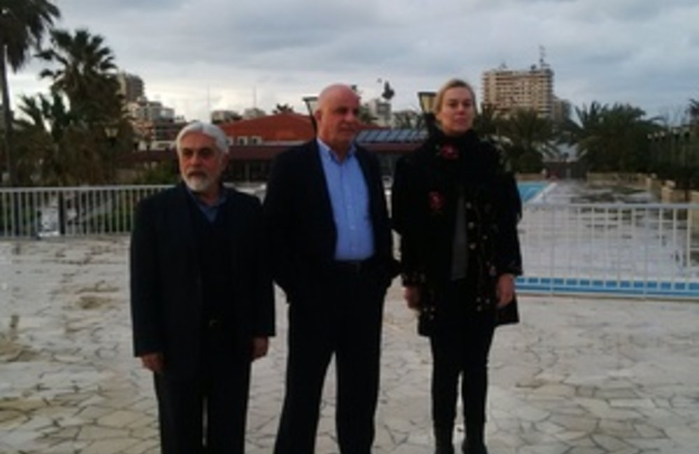 SCL Sigrid Kaag meets MPs in Tyre South Lebanon (17 02 15)