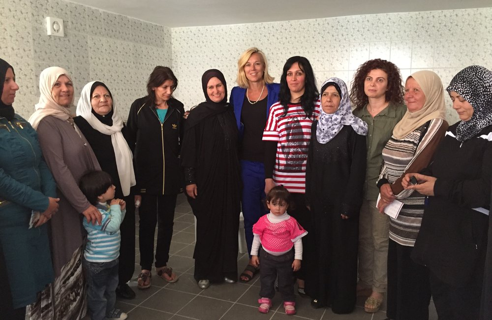 SCL Kaag visits women project in Shebaa (26 06 15)