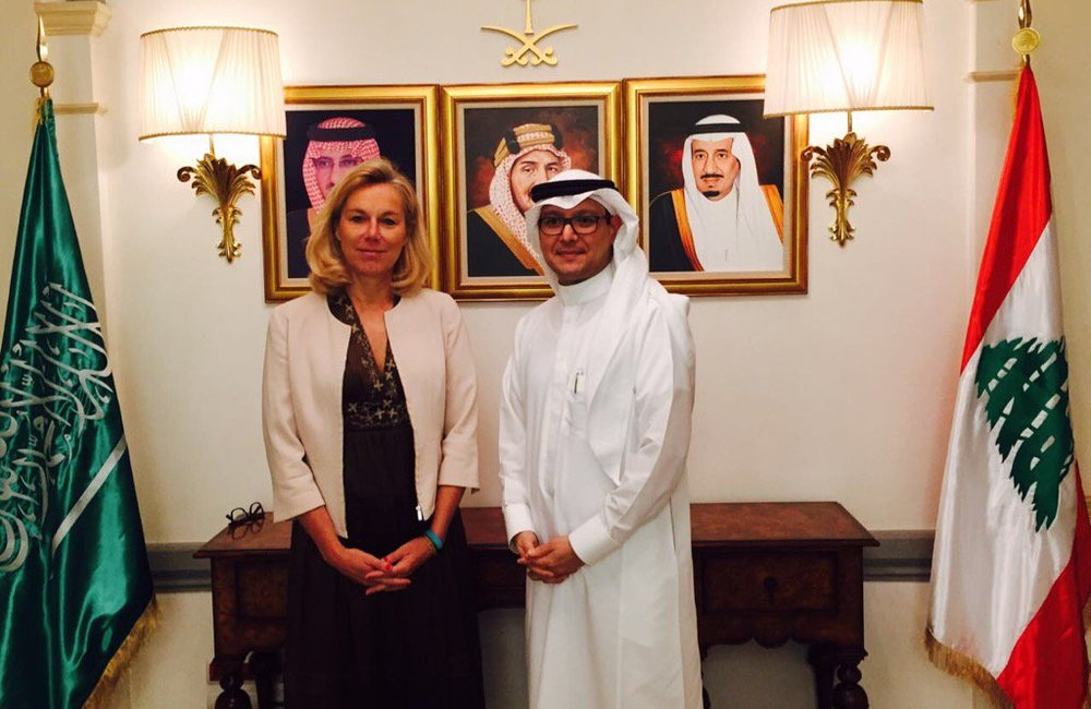 Special Coordinator Sigrid Kaag meets with Charge D'Affaires at the Embassy of the Kingdom of Saudi Arabia